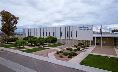 Queen Creek Junior High School building