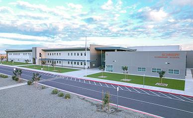 Schnepf Elementary School building