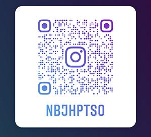 QR code for Newell Barney Junior High School Instagram
