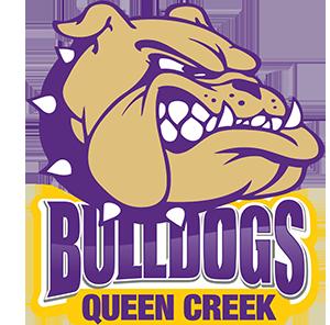 Queen Creek High School Bulldogs logo