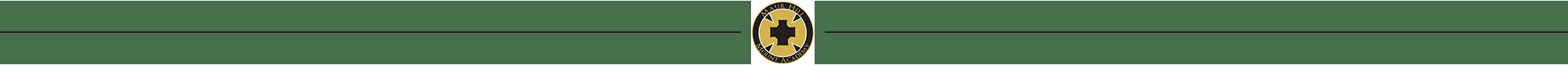 Maur Hill logo divider