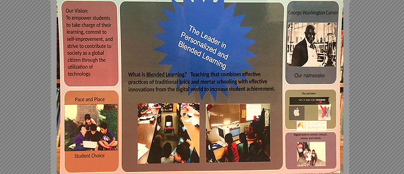 The Leader in Personalized and Blended Learning poster
