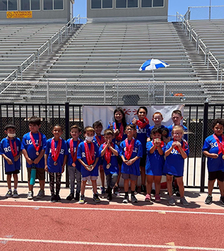 Laptop open to a calendar page