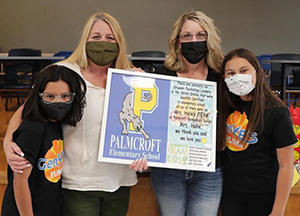 Palmcroft Panthers GenYes students
