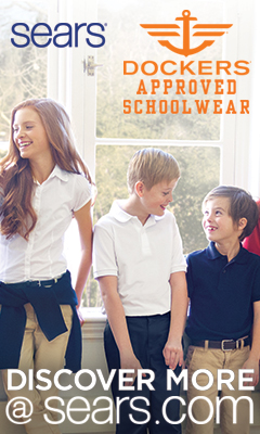 Sears. Dockers approved schoolwear. Discover more at sears.com.