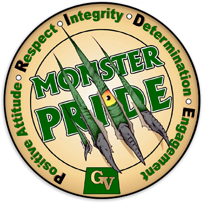 Monster Pride - Positive Attitude, Respect, Integrity, Determination, Engagement