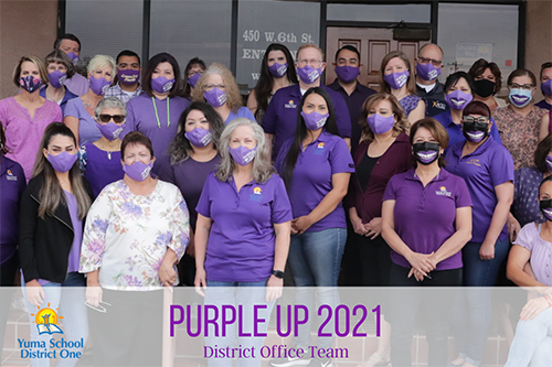 Purple it up District office