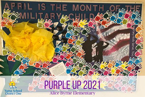 Purple it up Alice Bryne