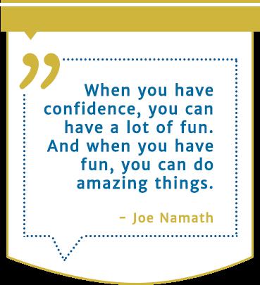 Joe Namath quote