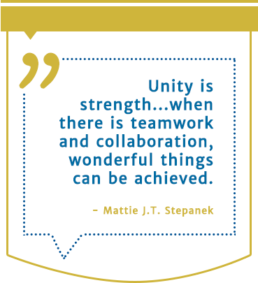 Mattie J.T Stepenak quote