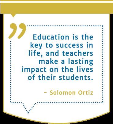 Solomon Ortiz quote