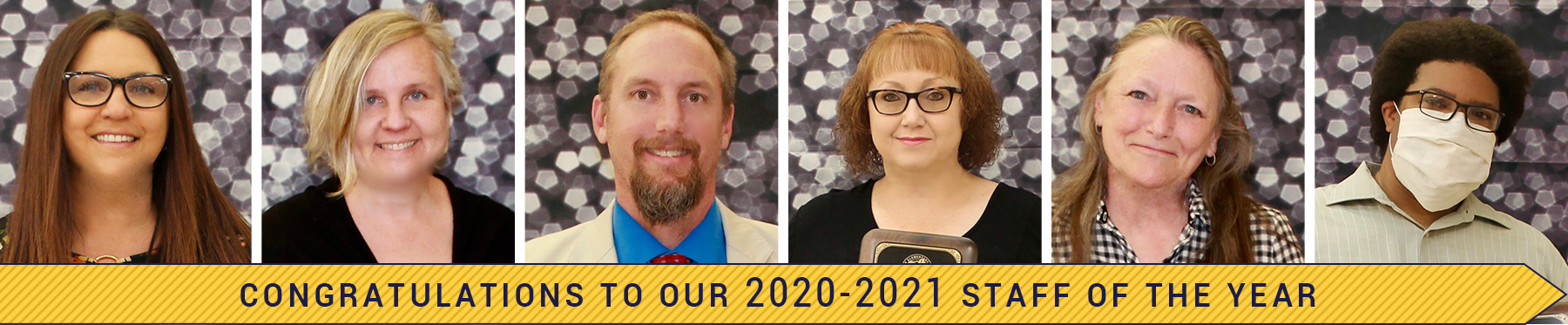 congratulations to our 2020-2021 Teachers of the Year