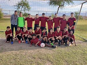Western Valley Boys Soccer team