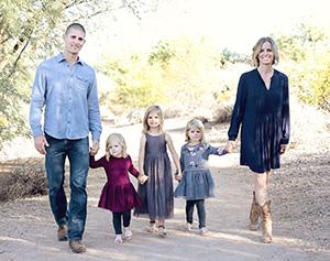Principal Butson and family