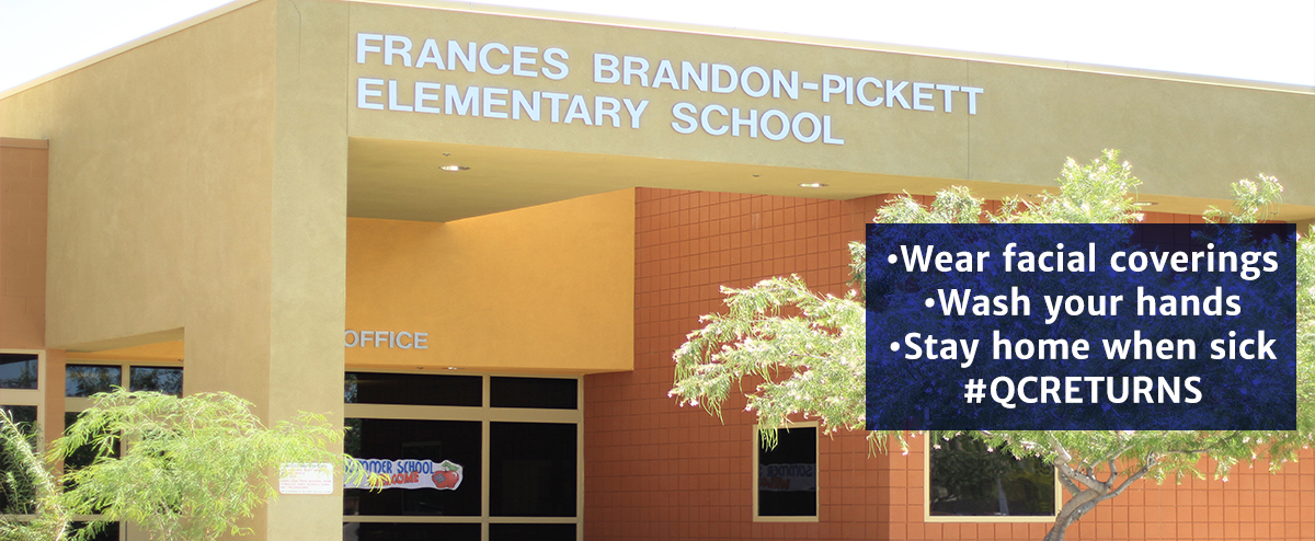 Frances Brandon Pickett Elementary school buidling