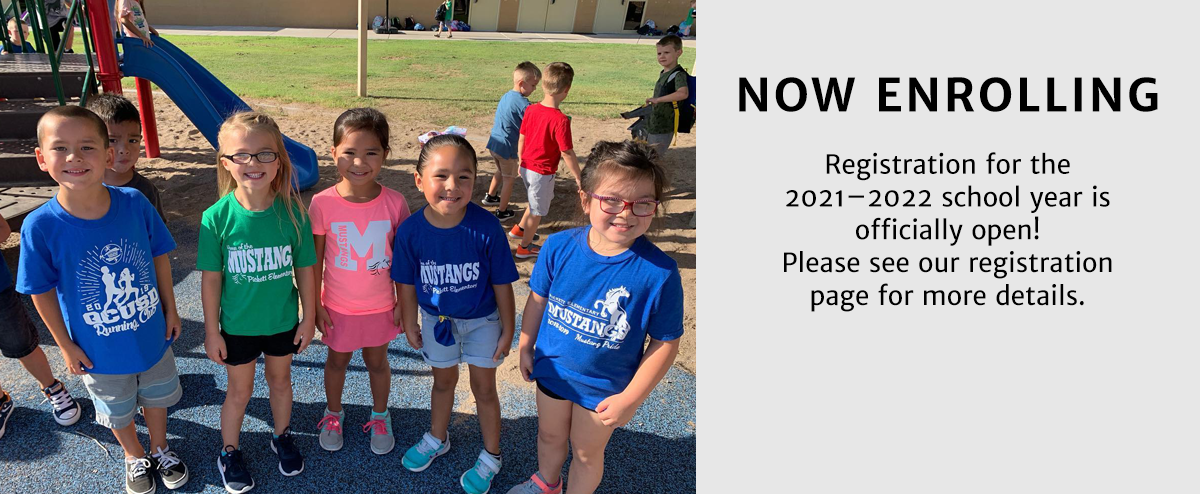 Registration for the 2021–2022 school year is officially open! Please see our registration page for more details