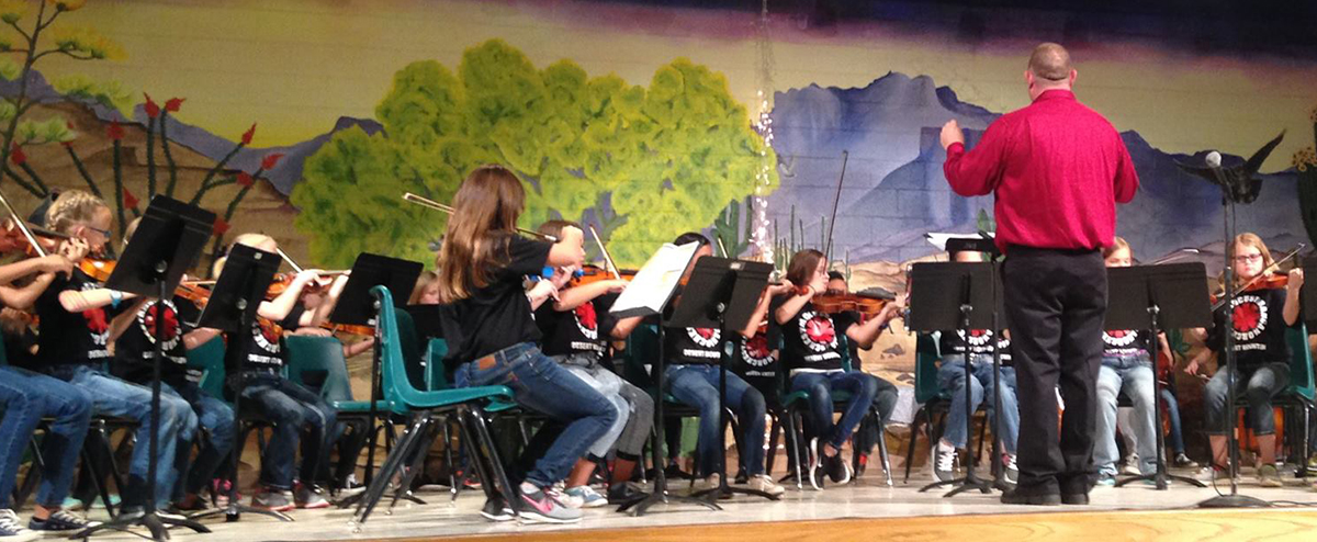 Our 5th Grade QCE Band/Orchestra