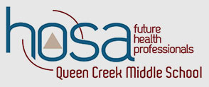 HOSA - future health professionals - Queen Creek Middle School