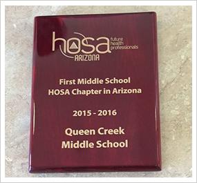 HOSA Award