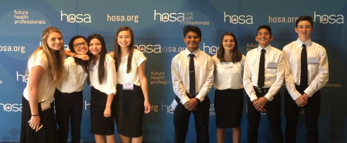 HOSA Students Qualify for Nationals in Nashville, TN, June 22-26!