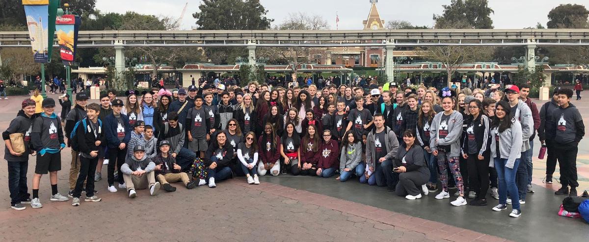 8th Grade - Disneyland