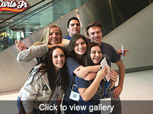 View Gallery of DECA students