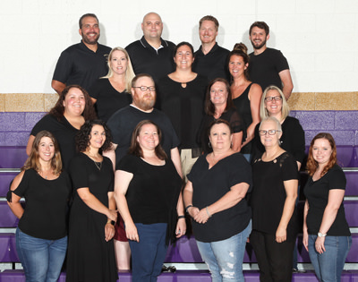 Math department staff