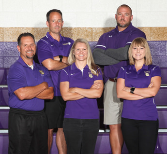 Physical Education department staff