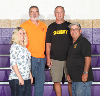 Security and Maintenance department staff