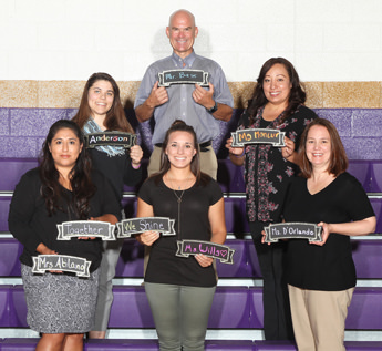 World Language department staff