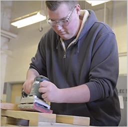 QCHS CTE Carpentry Education