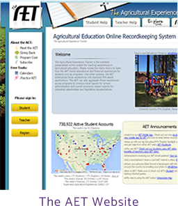 The AET website