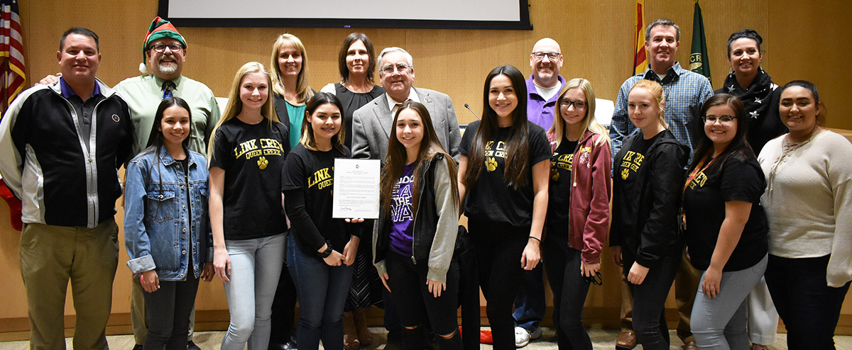 Link Crew Invited to City Hall by the Mayor