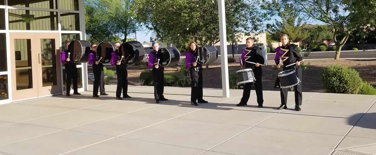 Band Plays At QCUSD Partnership Breakfast