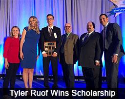 Tyler Ruof Wins Scholarship