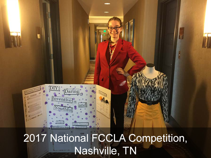 2017 National FCCLA Competition, Nashville, TN
