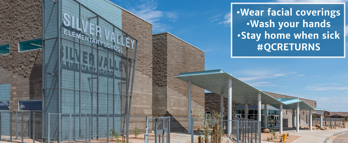 computer generated version of Silver Valley Elementary School