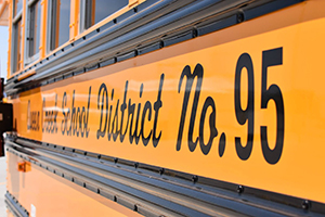 Queen Creek School District No. 95 Bus