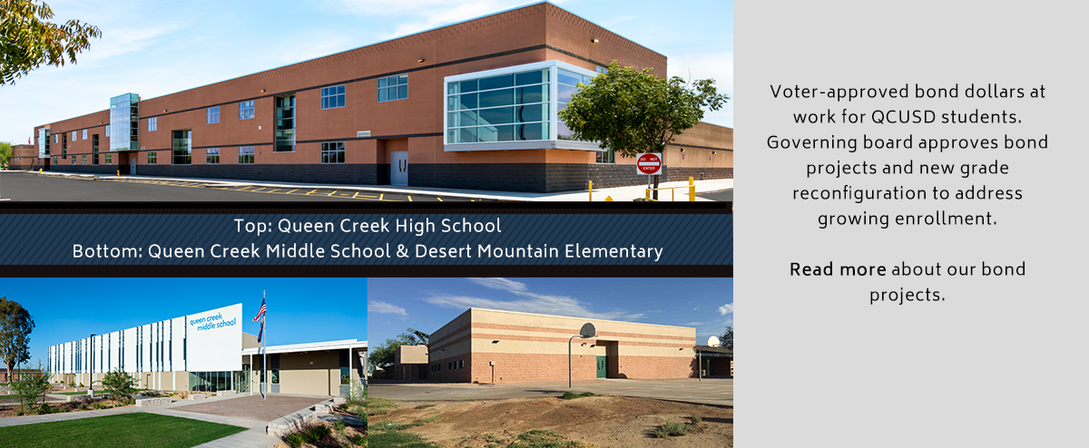 Bond Projects and New Grade Reconfiguration