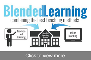 View more photos about Blended Learning. Blended Learning combining the best teaching methods - teacher led learning with online learning - Blended Learning School