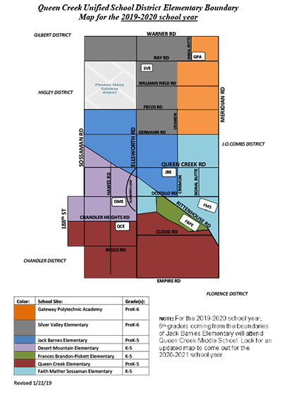QCUSD Elementary School Boundaries