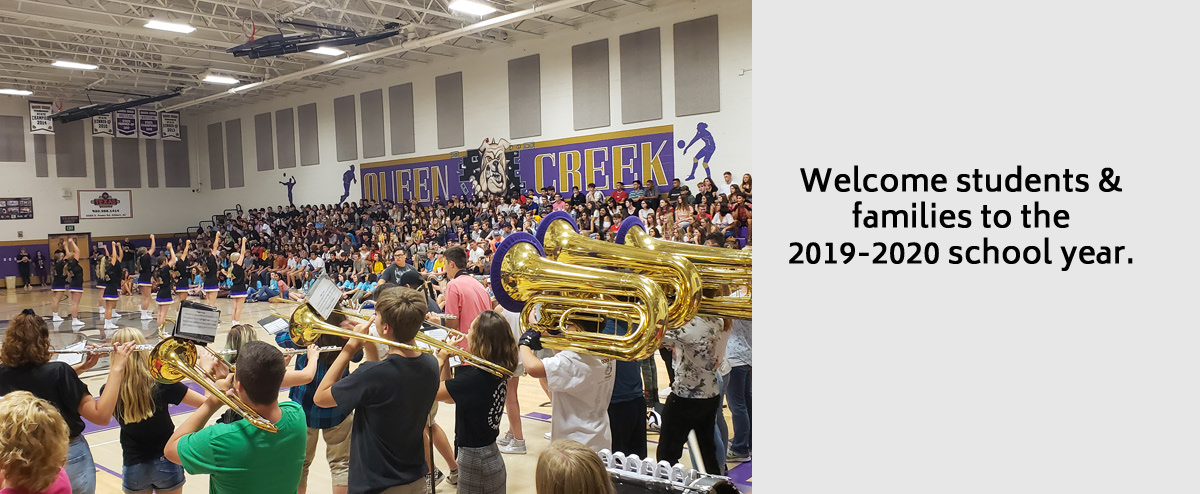 Welcome students & families to the 2019-2020 school year.