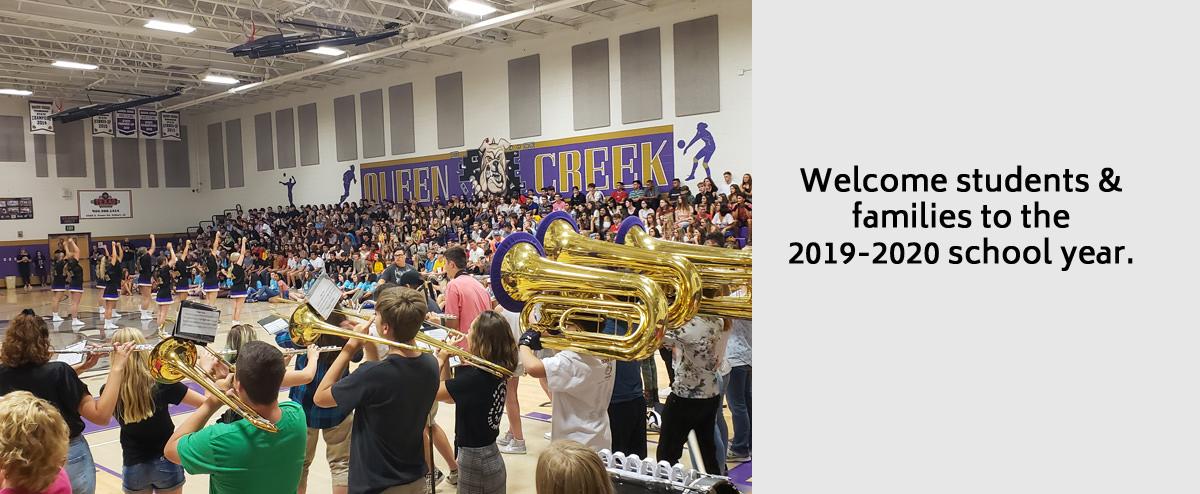 Queen Creek Unified School District: Home