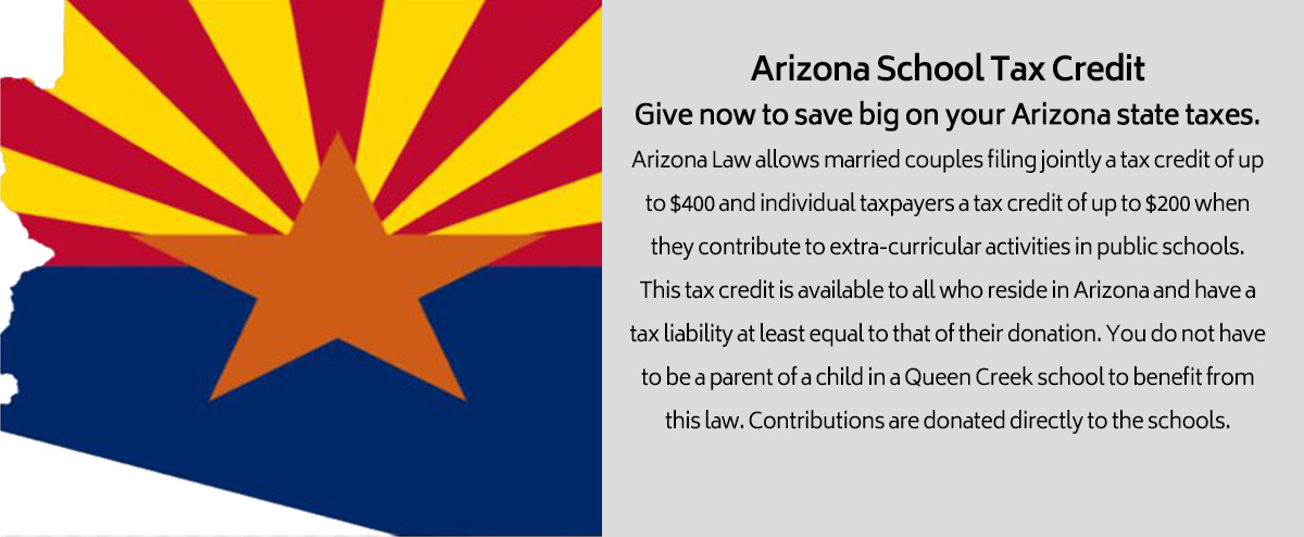 Arizona School Tax Credit - make a tax credit donation online