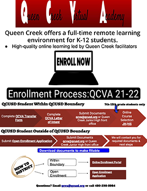 Full-Time Remote Learning Flyer