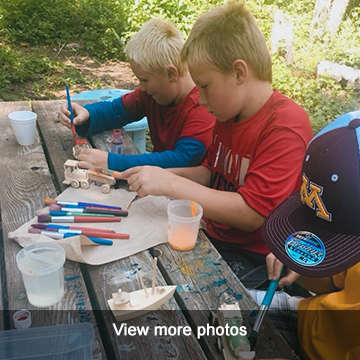 View more photo of our Campsite Kids program