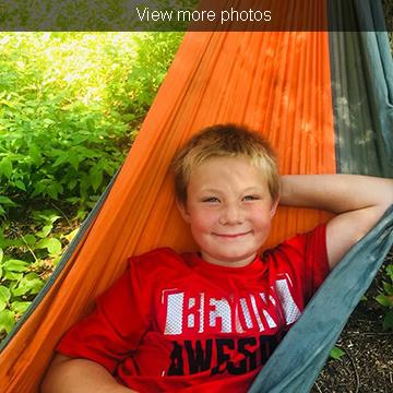 View more photos of our Campsite Kids program