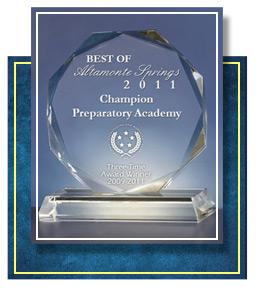 2011 Best of Altamonte Springs Award