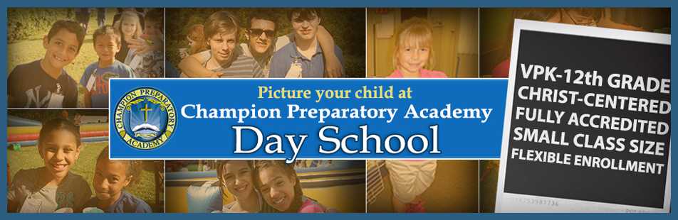 Picture Your Child at Champion Prep