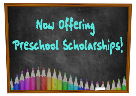 Preschool Registration begins January 9th at 8 am
